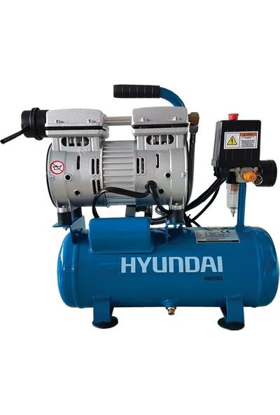 Hyundai Kompresör Sessiz & Yağsız 550W 6 Lt