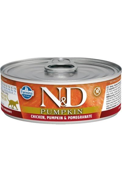 N&D Balkabağı ,Tavuk ,Nar Yetişkin Kedi Konservesi 80 Gr