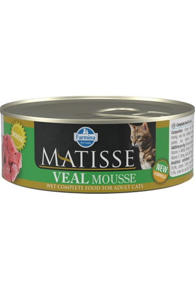 Matisse Veal - Dana Kedi Konservesi 80 gr (24 Adet)