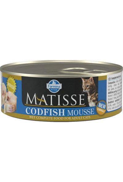 Matisse Codfish - Morina Balığı Kedi Konservesi 80 gr (24 Adet)