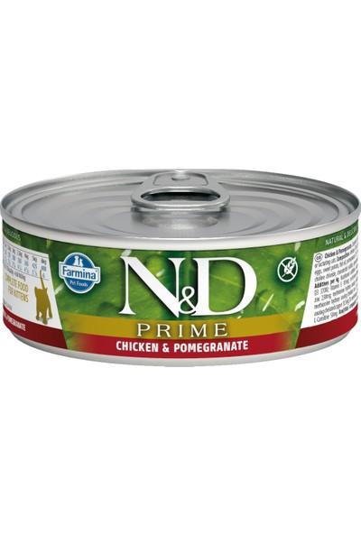 N&D Prime Kitten Tavuk,Nar Yavru Kedi Konservesi 80 Gr