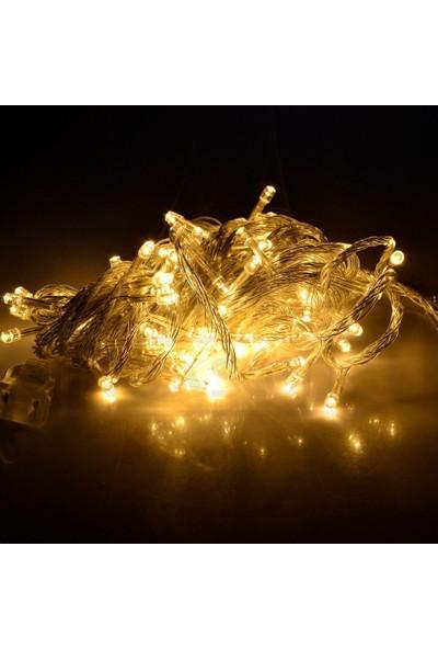 Hediyemania Gerçek Gün Işığı Kaliteli 10 metre Animasyon Kumandalı Çam Ağacı Işığı
