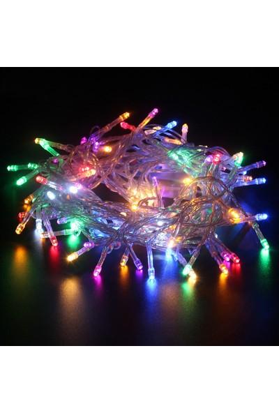 Hediyemania Kumandalı Yılbaşı Çam Ağacı ışığı Vitrin 100 LED ışık