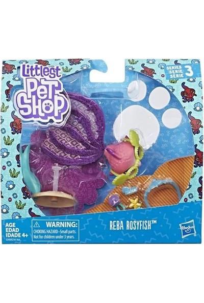 Littlest Pet Shop Süslü Özel Miniş Reba Rosyfish E2161-E2430