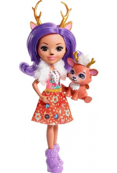 Enchantimals Karakter Bebekler Danessa Deer Oyuncak Bebek Geyik