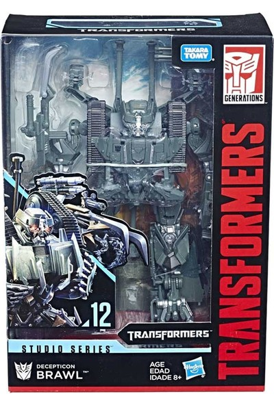 Transformers Film Serileri Büyük Figür Brawl E0702-E0772