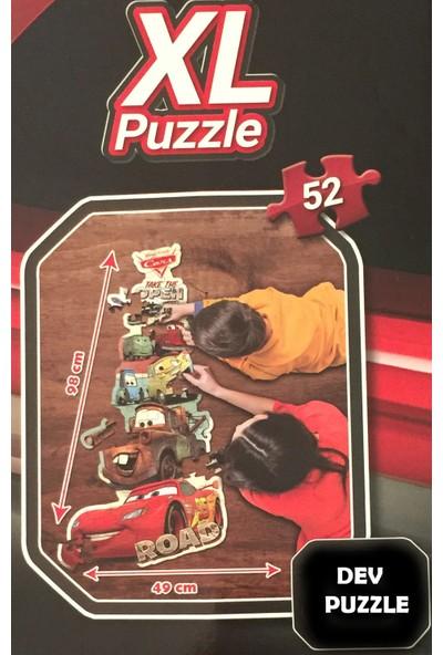 Disney Lisanslı Cars Puzzle Arabalar XL Dev Puzzle 1 Metre