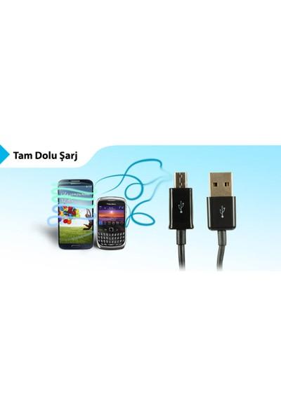 S-link SMG-14P 1.3A Micro USB Pembe Data Şarj Kablosu
