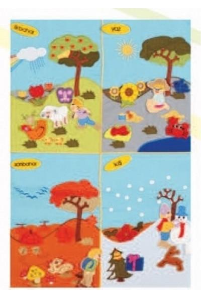 Edu Toys Cırtlı Mevsimler Pano