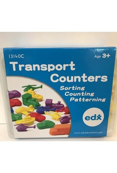 Edx Taşıtlar Sayı Seti 72 Parça