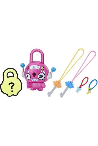 Hasbro Lock Stars Figür Pink Round Robot E3103-E3191