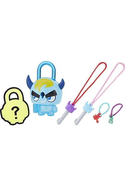 Hasbro Lock Stars Figür Blue Horned Monster E3103-E3172