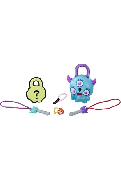 Hasbro Lock Stars Figür Teal Monster Horns E3103-E3155