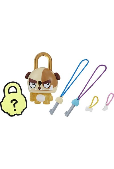 Hasbro Lock Stars Figür Brown Dog E3103-E3212
