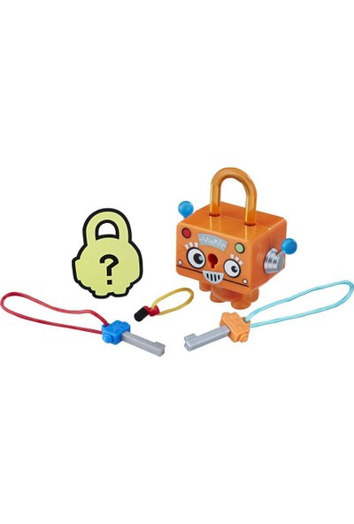 Hasbro Lock Stars Figür Orange Square Robot E3103-E3207
