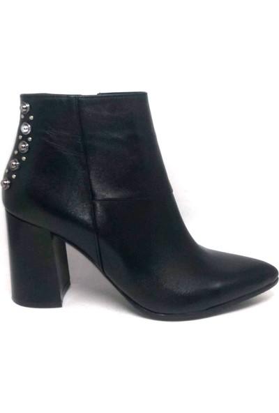 Shop And Shoes 122-2260 Kadın Bot Siyah