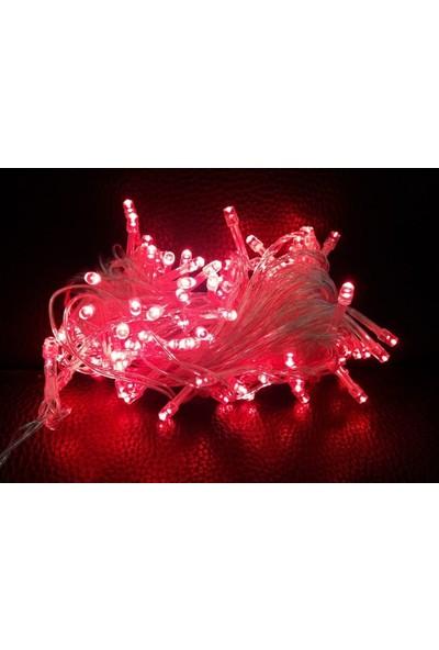 Foblight İp Led Kırmızı 100 Ledli 10Mt Eklenebilir IP44