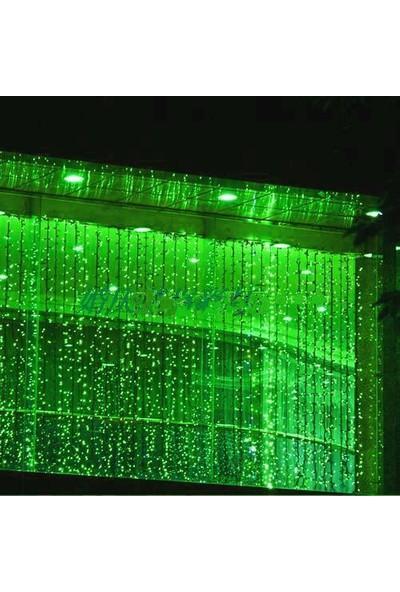 Foblight Led Perde Sabit Yeşil 2x3 Mt. 500 Ledli