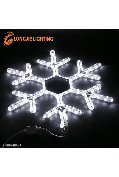 Foblight Led Kar Tanesi Beyaz 35x35 Cm Dış Mekan