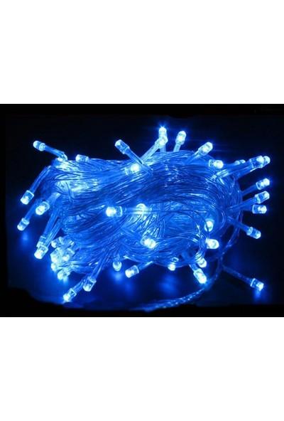 Foblight İp Led Mavi 100 Ledli 10Mt Eklenebilir IP44
