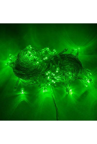 Foblight İp Led Yeşil 100 Ledli 10Mt Hareketli