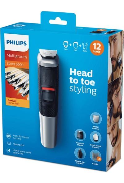 Philips 5000 Serisi MG5740/15 12 in 1 Erkek Bakım Kiti Multigroom Tıraş Makinesi Bakım Seti
