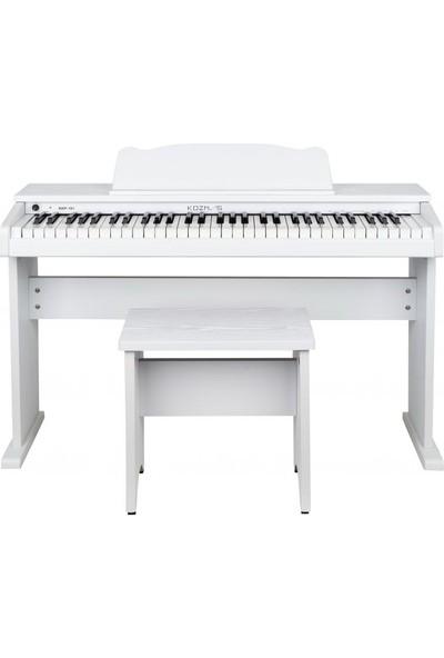 Kozmos Kkp-161Wh Dijital Çocuk Piyanosu + Tabure + Kulaklık + Metod