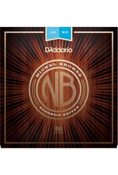 Daddario Nb1253 12-53 Akustik Gitar Teli + 3 Pena