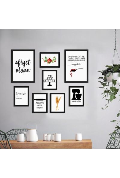 Vetro Design Ahşap Çerçeveli Poster Set