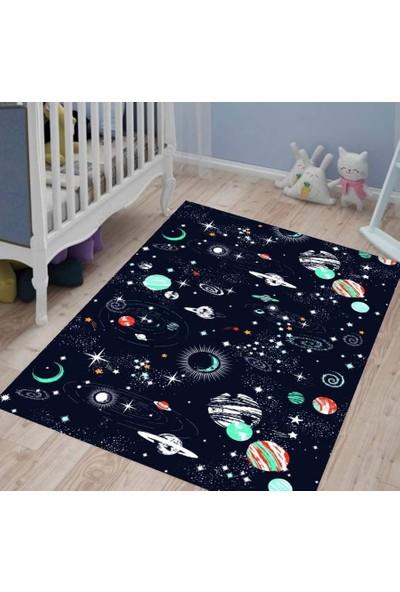 Karnaval Galaksi Çocuk Odası Halısı