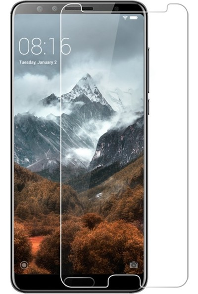 Microcase Huawei Nova 2s Tempered Glass Cam Ekran Koruma