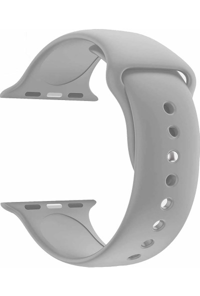 Microcase Apple Watch 38 mm Seri 1 2 3 Silikon Kordon Kayış