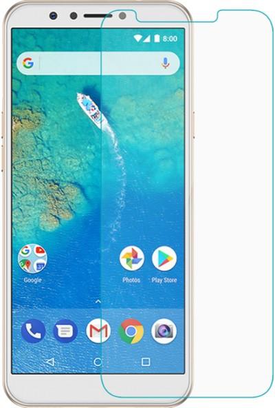 Microcase General Mobile GM 8 Go Tempered Glass Cam Ekran Koruma