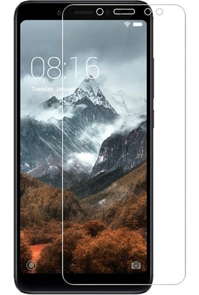 Microcase Xiaomi Redmi S2 Tempered Glass Cam Ekran Koruma