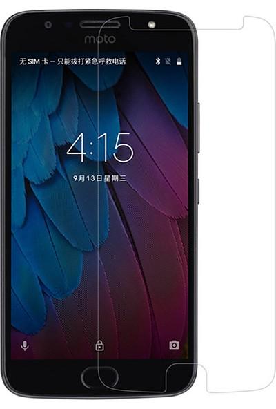 Microcase Motorola Moto G5S Tempered Glass Cam Ekran Koruma