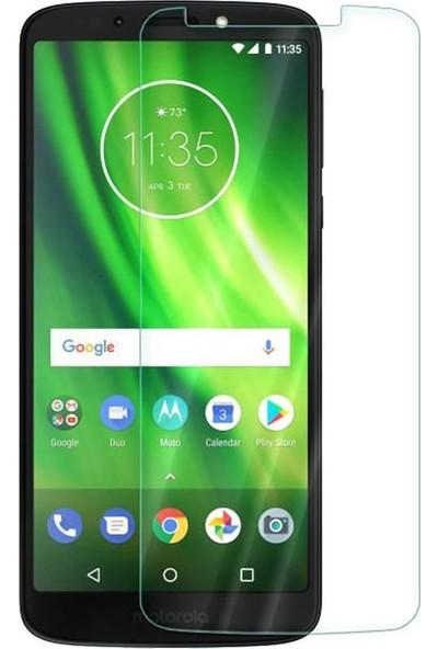 Microcase Motorola Moto G6 Play Tempered Glass Cam Ekran Koruma