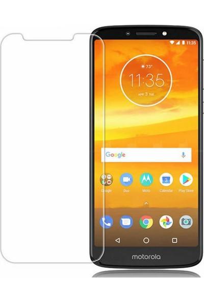Microcase Motorola Moto E5 Tempered Glass Cam Ekran Koruma