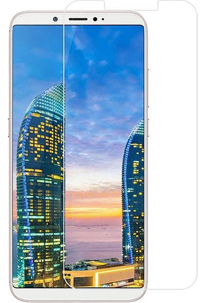 Microcase ZTE Nubia V18 Tempered Glass Cam Ekran Koruma