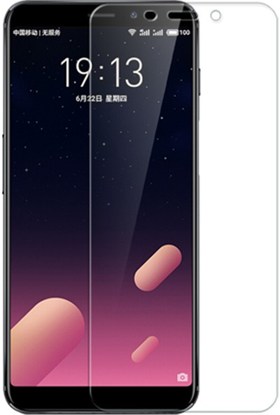 Microcase Meizu M6S Tempered Glass Cam Ekran Koruma