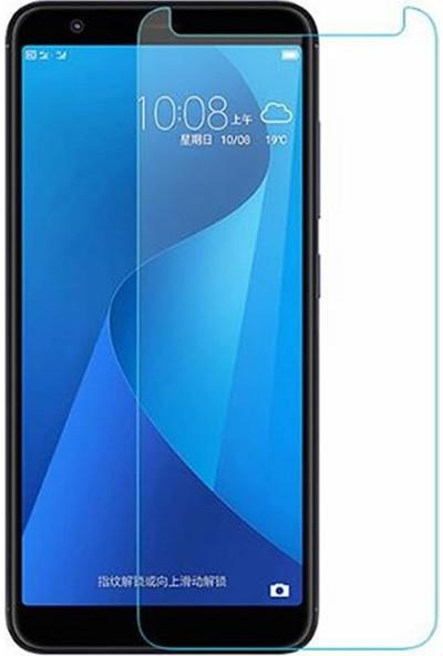 Microcase Asus Zenfone Max Plus (M1) ZB570TL Tempered Glass Cam Ekran Koruma