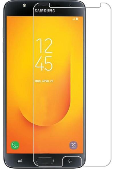 Microcase Samsung Galaxy J7 Duo Tempered Glass Cam Ekran Koruma
