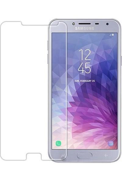 Microcase Samsung Galaxy J4 J400 Tempered Glass Cam Ekran Koruma