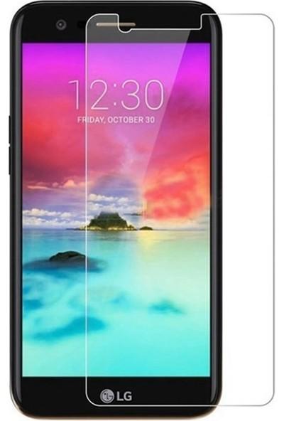 Microcase LG K9 Tempered Glass Cam Ekran Koruma