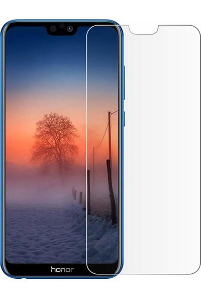 Microcase Honor 9i Tempered Glass Cam Ekran Koruma