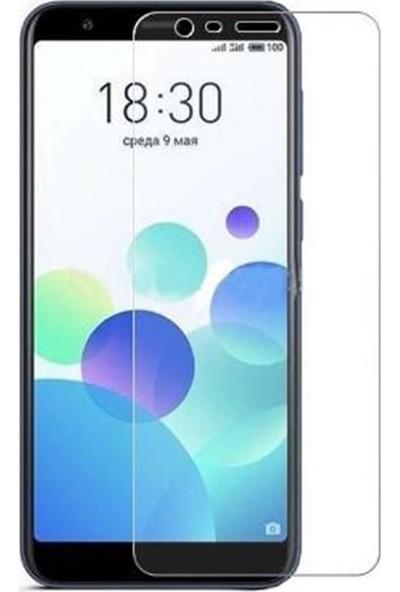 Microcase Meizu M8C Tempered Glass Cam Ekran Koruma