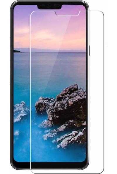 Microcase LG G7 ThinQ Tempered Glass Cam Ekran Koruma