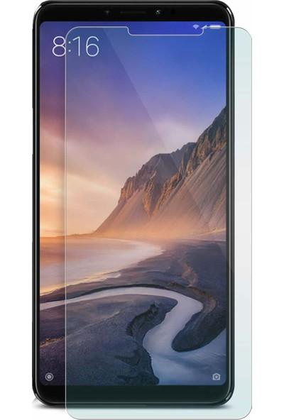 Microcase Xiaomi Mi Max 3 Tempered Glass Cam Ekran Koruma