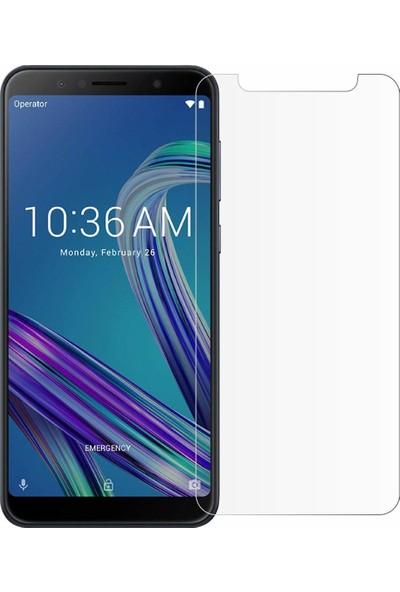 Microcase Asus Zenfone Max Pro ZB602KL Tempered Glass Cam Ekran Koruma