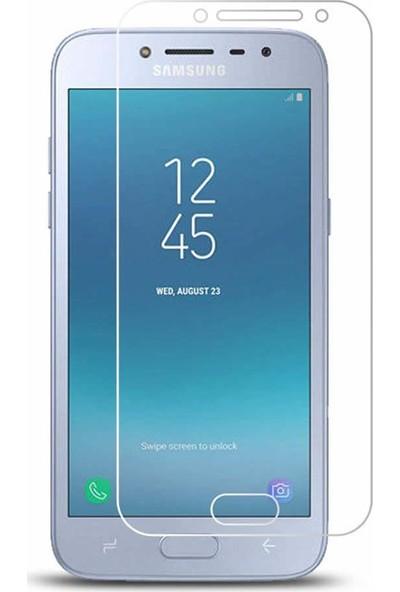 Microcase Samsung Galaxy J5 Pro 2018 Tempered Glass Cam Ekran Koruma