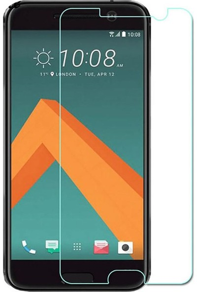Microcase HTC 10 Tempered Glass Cam Ekran Koruma